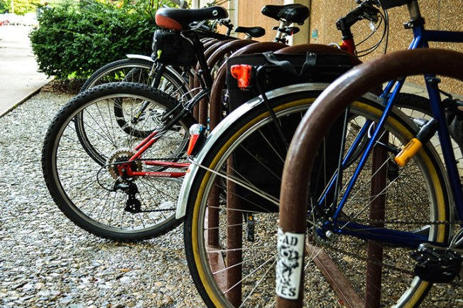 Campus bike thefts are becoming increasingly common according to campus police. Preface Photo/MANDI STEFFEY