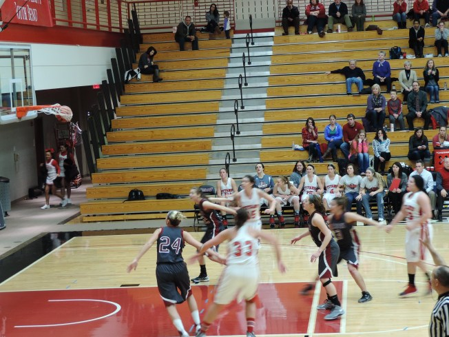 The Lady Titans played  against on Wednesday, Jan. 29.