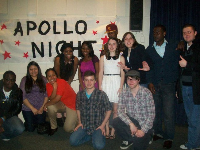 Performers and organizers from last year's Apollo Night posing for a picture after the show.  (Provided/Jonathan Jones)