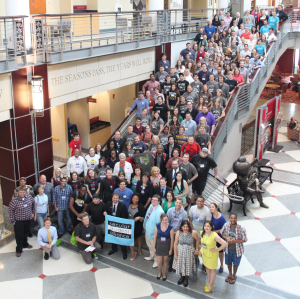 The 2014 Secular Student Alliance national meeting in Columbus, Ohio at which Black spoke.  Photo provided by Robyn Black.