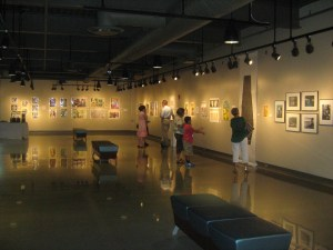 The Translations exhibit is open and free to the public.