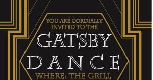 The Gatsby Dance flyer. Photo credit/Titan Pro