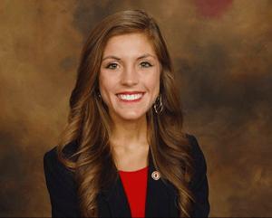 Hannah Van seeks the IU South Bend Student Government Association presidency.Photo provided by Hannah Van