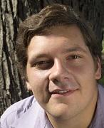 Student-playwright Brad Pontius, writer of this adaption of The Legend of John Henry. Photo Credit/Brad Pontius