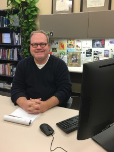 Dr. Kevin Griffith, Director Student Counseling Center at IUSB. Photo Credit/IU South Bend Bulletin