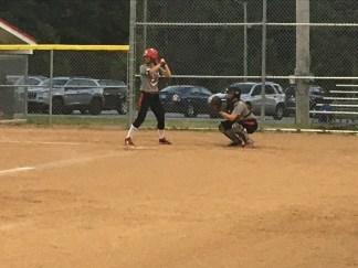 IUSB Softball Fall Scrimmage Practice Photograph