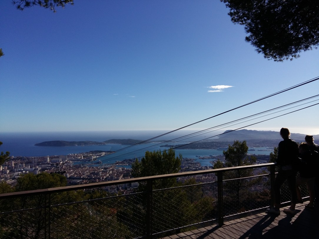 Panoramic View of Toulon