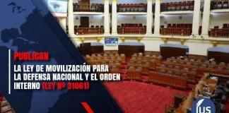 Ley de Movilización para la Defensa Nacional y el Orden Interno