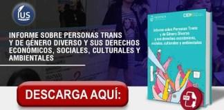 CIDH: Informe sobre Personas Trans y de Género Diverso y sus derechos económicos, sociales, culturales y ambientales