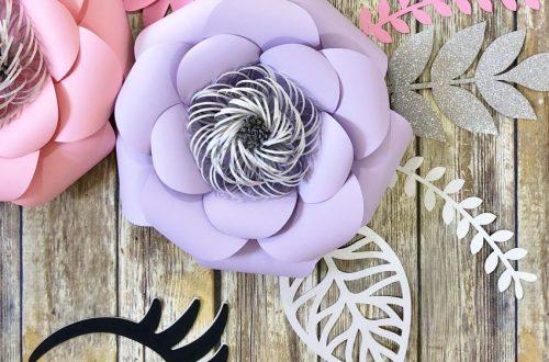 Paper Flower Unicorn