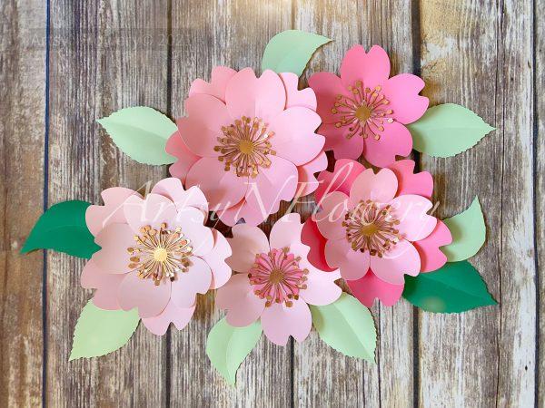Paper Spring Blossom