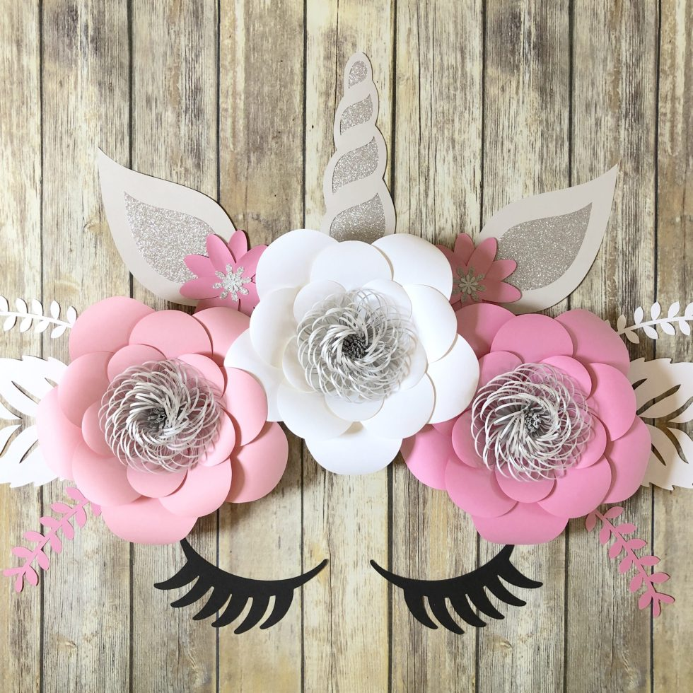 pink and white unicorn backdrop