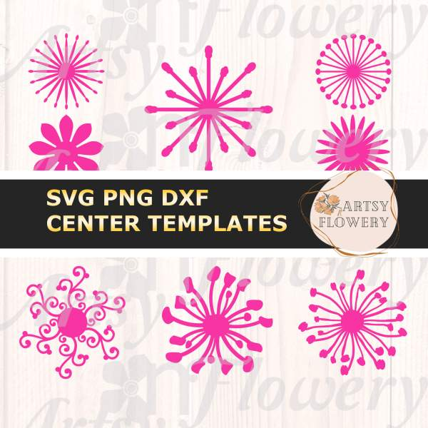 SVG Flower Stamens