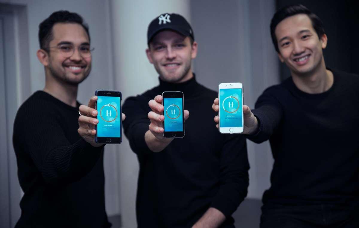 hold app iværksætterhistorier