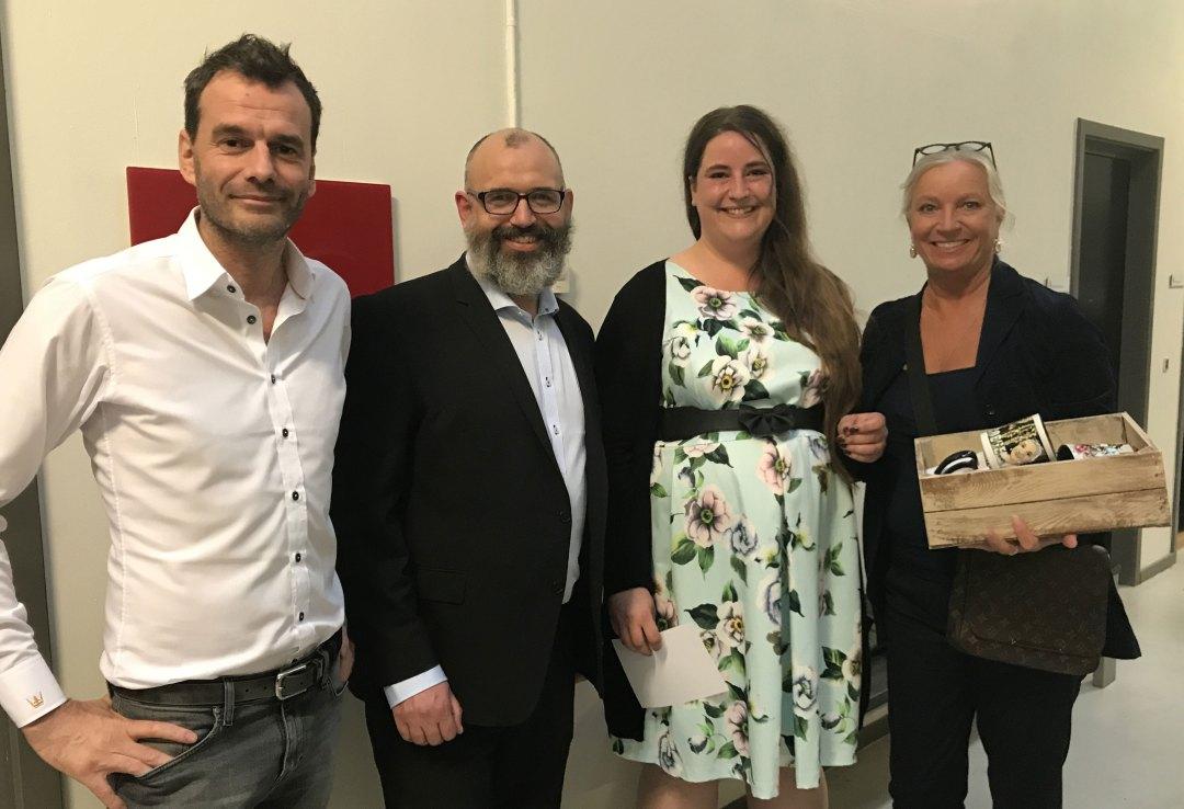 Marie Dyekjær, Jakob Bank, Jesper Buch og Ilse Jacobsen fra Dyekjær Design
