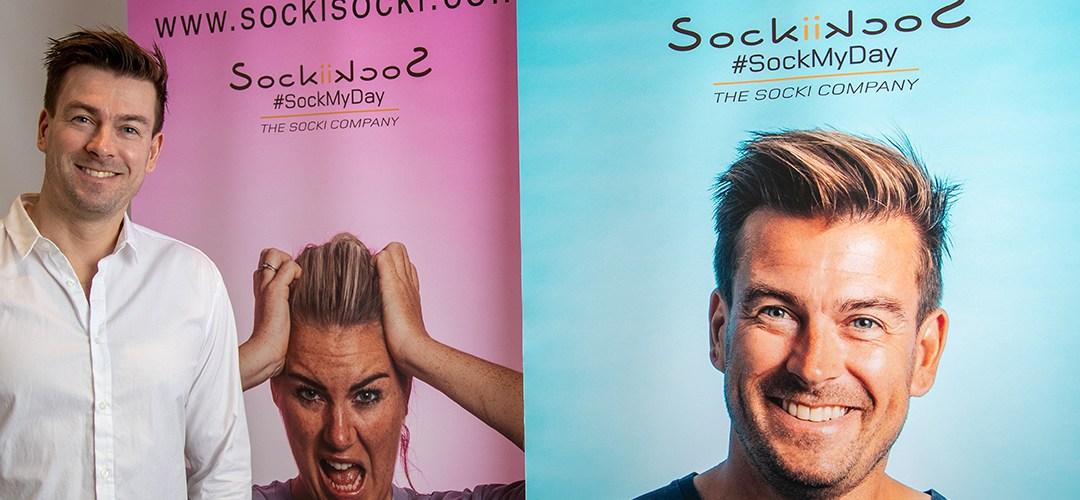 SockiSocki – de frække sokker fra løvens hule