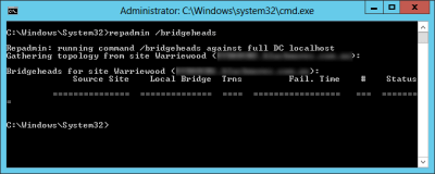 bridgehead single server