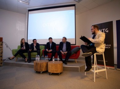 Ida Pandur, Sven Marusic, Tomislav Tipurić and Nikola Dujmović comment Emily!