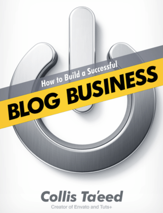 Collis Ta'eed wrote the book based on the success of Freelance Switch and the Envato blog network.