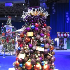 Golden Power Chair Grey Accent Not Your Normal Christmas Trees | Ivan Carlson & Associates