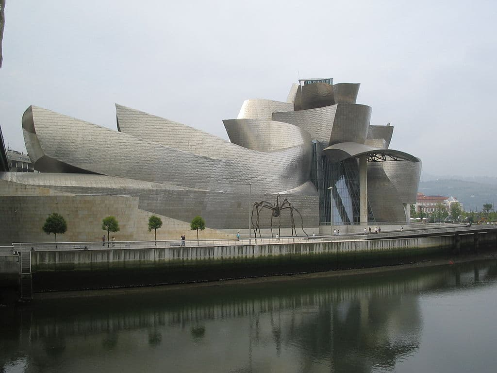 Museo Guggenheim en Bilbao. Frank Gehry