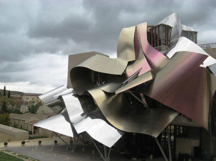 Bodega-Hotel Marqués de Riscal en Álava. Frank Gehry