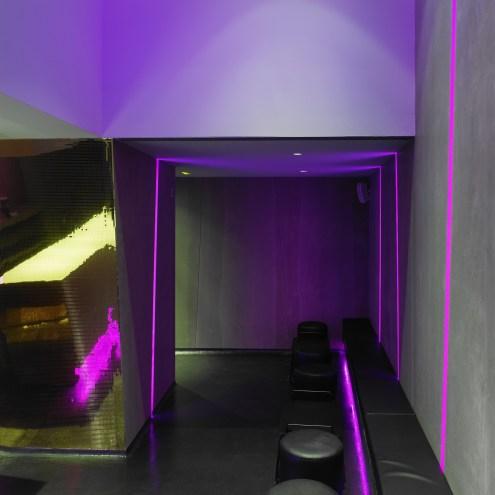 Zona de relax en La Fragua de Vulcano Lounge & Bar