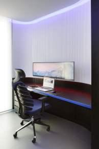 Despacho-Diseño interior vivienda futurista en Elche