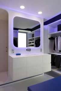 Lavabo-baño-Diseño interior vivienda futurista en Elche