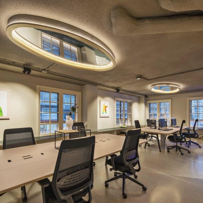 Puestos oficina en Diseño de oficinas Sutega LAB