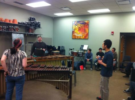 Masterclass at University of Wisconsin at Stevens Point