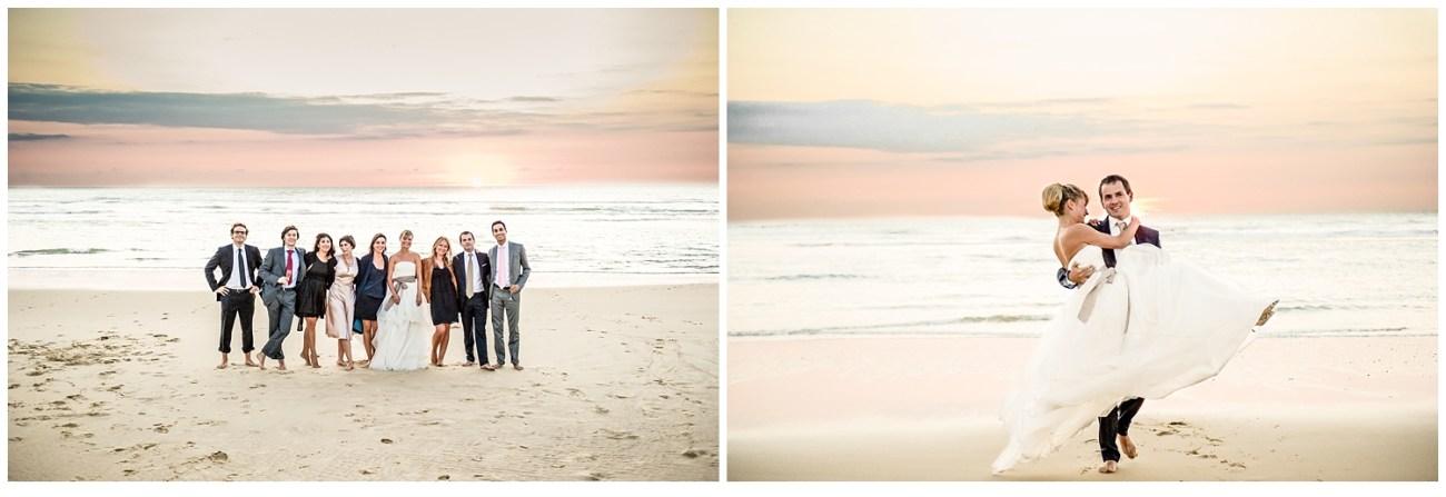 des photos face à la mer