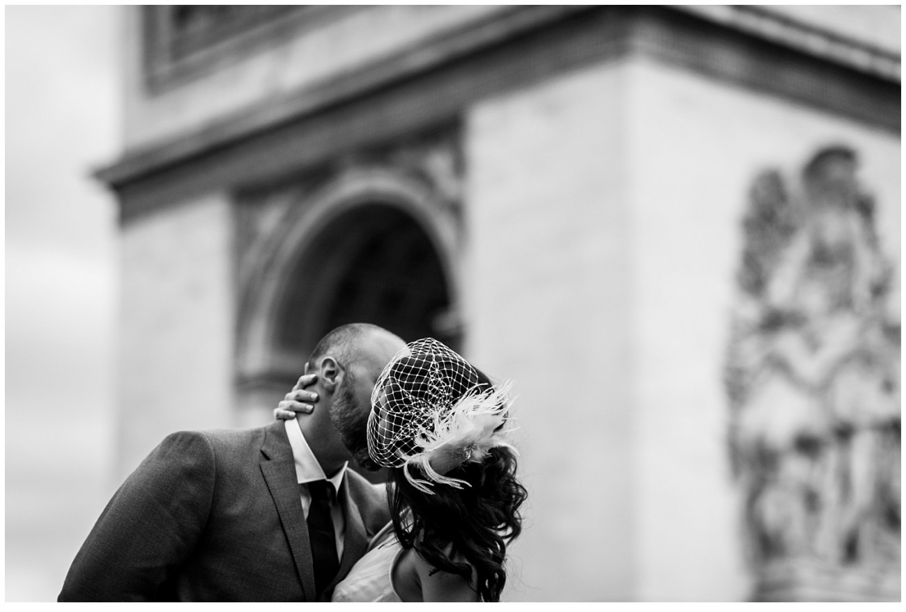 Elopement canadien à Paris