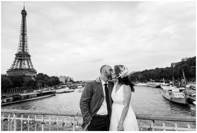 Elopement canadien à Paris