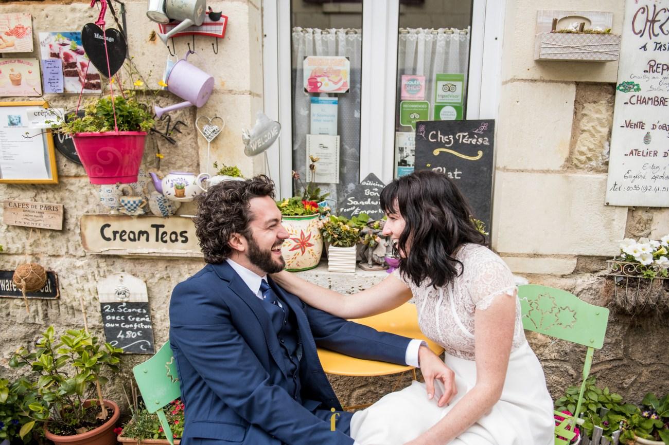 Deux amoureux à l'abbaye royale de Fontevraud