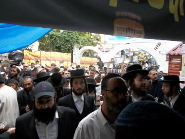 Entrance to Rebbe Nachman's Tsiyun