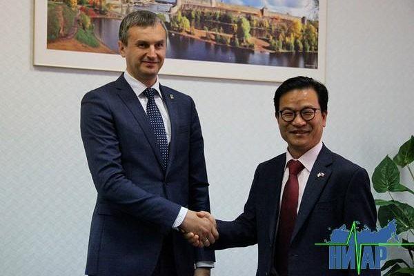 Ивангород посетил генеральный консул Республики Корея (фото и видео)