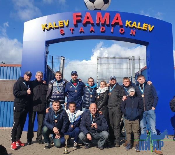 Ивангородские футболисты заняли третье место на международном турнире (фото)