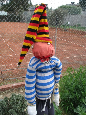 scouts scarecrow close up 1
