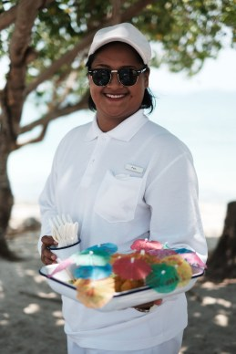 Pairy our friendly COMO Beach Club staff. X-Pro2 + XF35mm F1.4