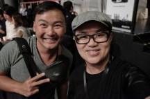 With fellow photographer Martin.