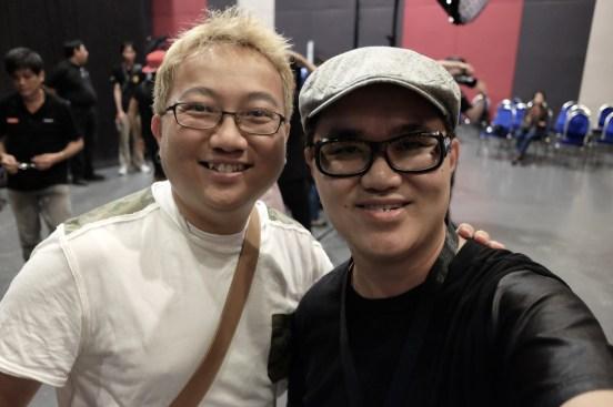 With fellow X-Photographer, William Chua.