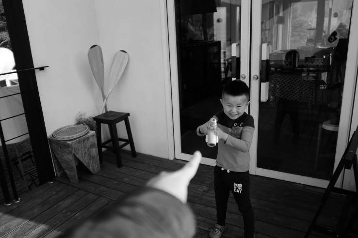 You shoot me and I shoot you. X100F + WCL