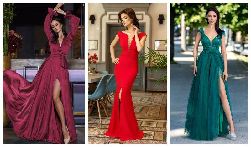 55 Modele rochii crapate pe picior: lungi, midi si scurte online