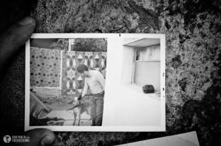 Felipe 76 años, inmigrante a los 25 Junto a su perro