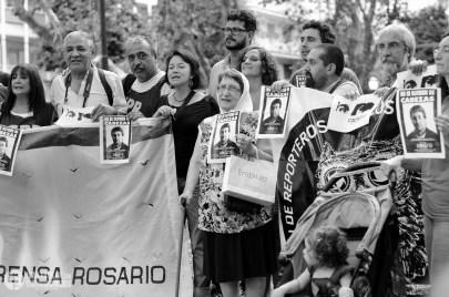 #NoseOlvidenDeCabezas a 19 años del crimen, el homenaje y camarazo en Rosario