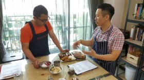 GoTuCooking Ivan PRakasa and Chef Tu