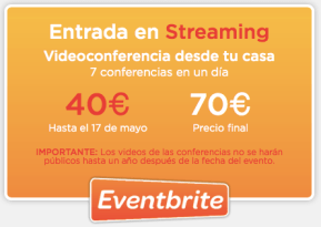 "Entrada Streaming Inbound Marketing. Descuento con ""ivanruiz"""