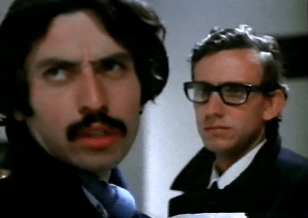 Iván Zulueta como Iván y Jaime Chávarri como ejecutivo publicitario