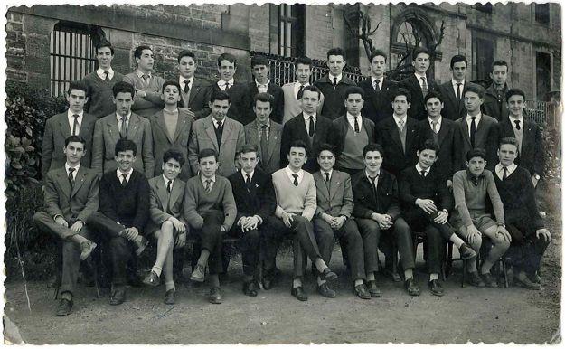Orla de Marianistas, años 50. ¿Dónde esta Iván?